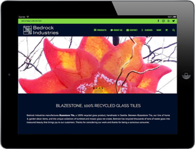 Web Design for Business Bedrock Industries 1