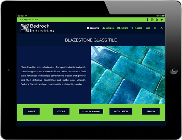 Web Design for Business Bedrock Industries 2