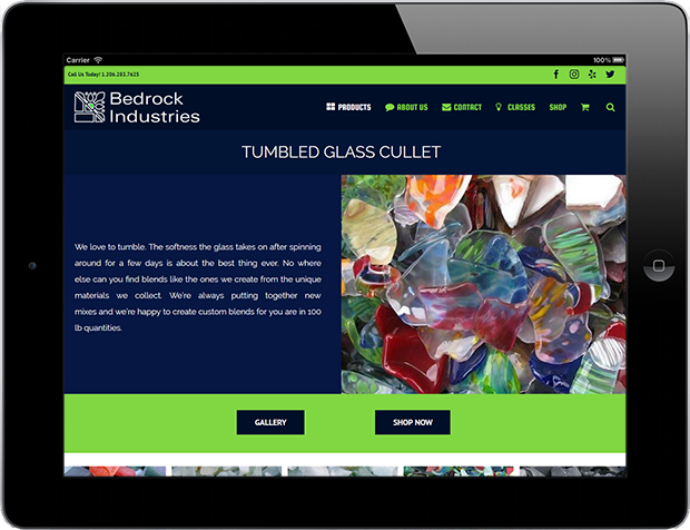 Web Design for Business Bedrock Industries 3