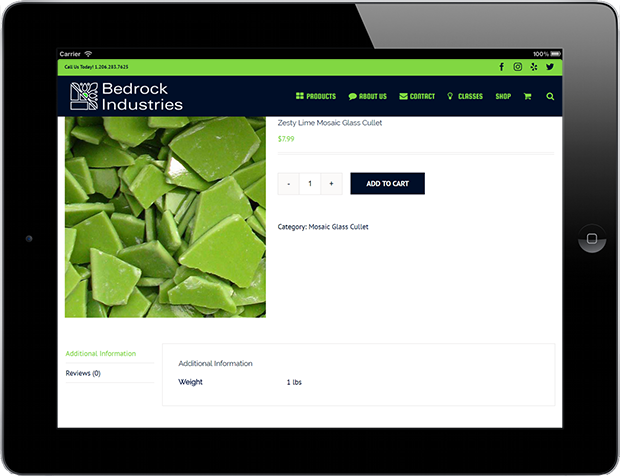 Web Design for Business Bedrock Industries 5